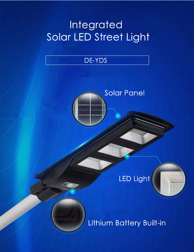 ALL IN ONE inegrated solar street light DE-YDS @DELIGHT (2)