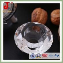 Clear Diamond Shape Candleholder (JD-CH-014)