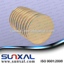 Gold Plated Zylinder Neodym-Magneten