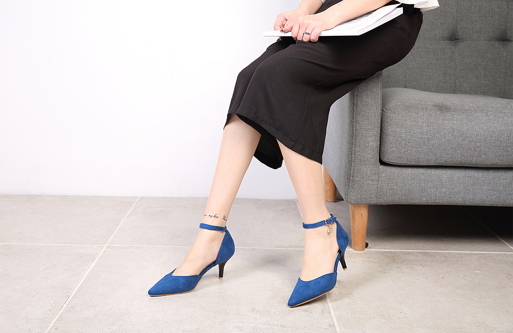 Women Suede Leather Pumps