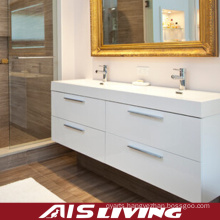 Laquer Matt Finish Bathroom Cabinets for House (AIS-B020)