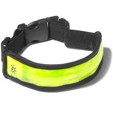 LED Lighted Red Reflective Glow Marker Band