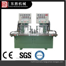 Double station cylinder-free wax injection machine