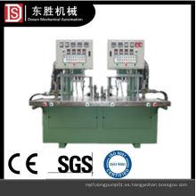 Máquina de inyección de cera sin cilindro de doble estación