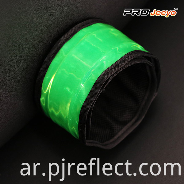 Reflective High Visible Slap Bracelet WB-JG005