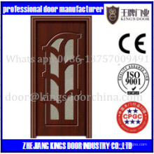 MDF Tür Material und Swing Open Style PVC Holztür