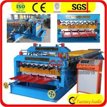 840/900 Doppelschicht-Walzenformmaschine