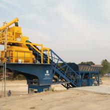 Precio de la planta de procesamiento por lotes de concreto de la cinta transportadora de la mejor calidad