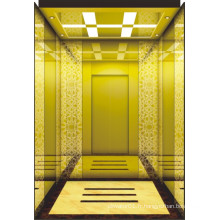 Chaud! Personnalisé Mrl Passenger Elevator avec Fine Lift Car Decoration