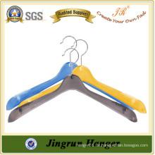 Bunte Wet Clothes Hanger China Lieferant Kunststoff Kleiderbügel