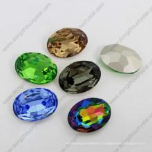 Oval Fancy Crystal Stones Sw