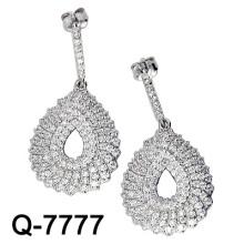 2015 Los últimos estilos Pendientes 925 joyería de plata (Q-7777. JPG)