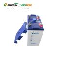 Batería solar de gel Bluesun 2v 3000ah para sistema de energía solar