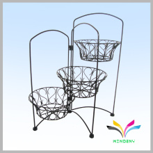 Garden supply wire basket for folwer plant stand indoor out door