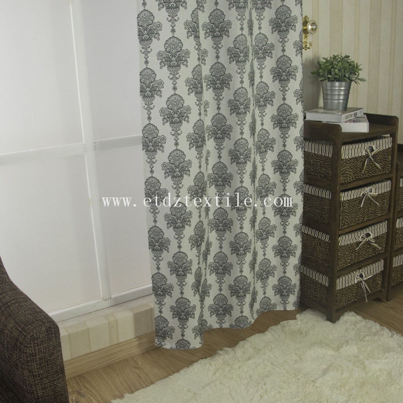 Popular Jacquard Curtain fabric FR2054