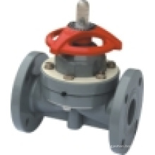 Válvula de diafragma de CPVC, válvula de diafragma de PVC, válvula de diafragma de plástico (G41F-6S)