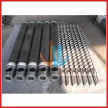 Parafuso de cilindro único para máquina de moldagem por sopro HDPE, LDPE, LLDPE