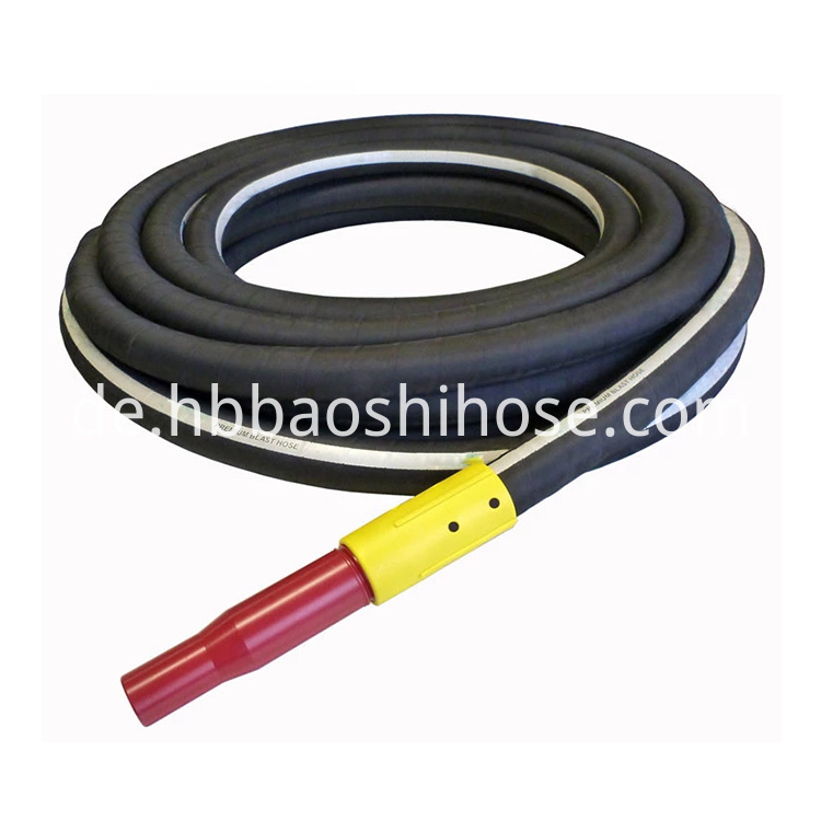 Heavy Sand Blasting Rubber Tube