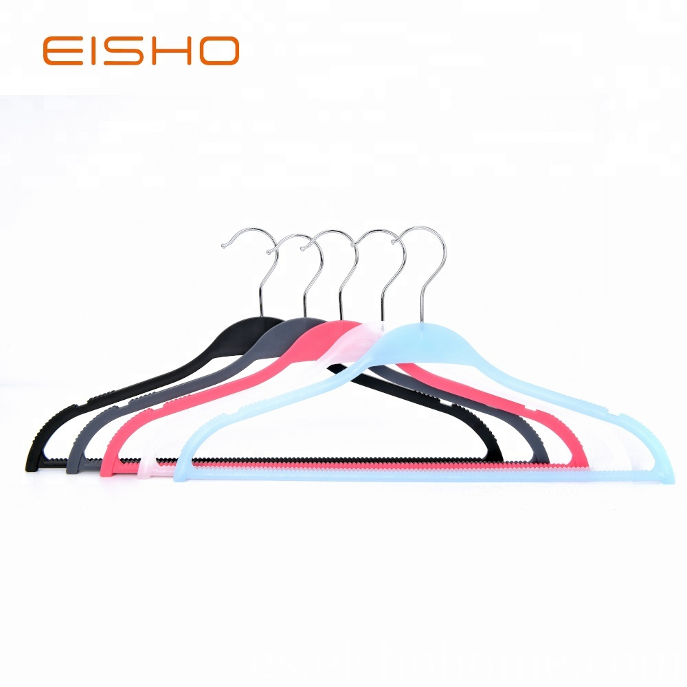 Eisho New Design Bule Plastic Hangers For