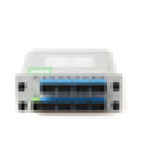 1x16 Alta qualidade LGX Box Cassette Card Inserindo PLC Splitter 1 * 16 16 portas Fibra Óptica PLC Splitter