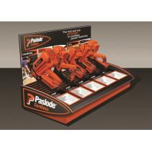 Einzelhandel Shop Stabile Tischplatte Metall Custom 5 Stück Schnurloses Werkzeug oder Bohrgerät Display Racks