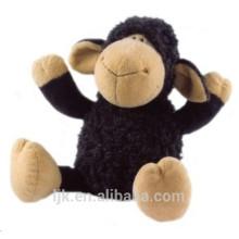 ICTI factory custom black sheep plush toy