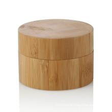 15/20/25/30/50/100ml personal care bamboo jar wholesale