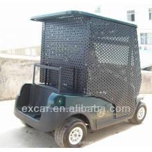 Carro elétrico bonde barato da bola da embalagem carrinho de golfe elétrico de 2 assentos