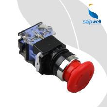 Saipwell CE Certifié Le Fournisseur De La Chine 22mm Bouton-Poussoir Bouton-poussoir Rouge Commutateur Led Interrupteurs