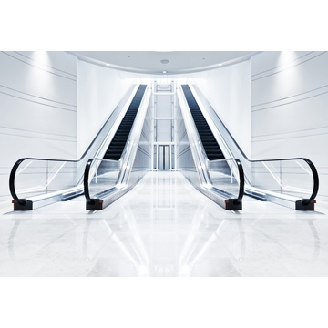 Escalator Heavy Duty de transport public IFE longue