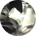 Pipe à eau claire et transparente