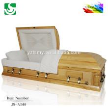Photos bois massif de gros haute brillance de cercueil