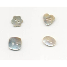 New design fashion shaped cute shell buttons wholesale