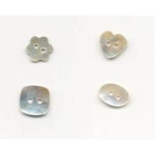 Nouveau design de mode en forme de boutons de nacre mignon en gros