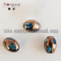 4 beschichtet mm Kristall Bead facettiert