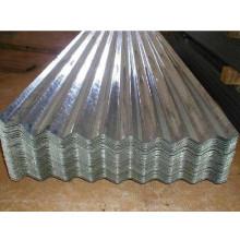 Feuille d'acier ondulé galvanisé pré-peint (1,0 mm - 1,5 mm)