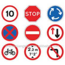 Benutzerdefinierte hochwertige Straßen-und Verkehrszeichen