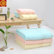 Toalla de baño del BALNEARIO barato modificado para requisitos particulares, toalla de baño del bebé, toalla de baño coloreada