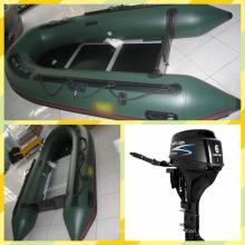 3,2 m Militär Schlauchboot mit Außenbordmotor