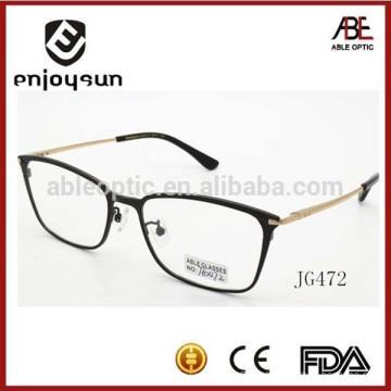 Melhor promoção de marca metal óculos ópticos homens