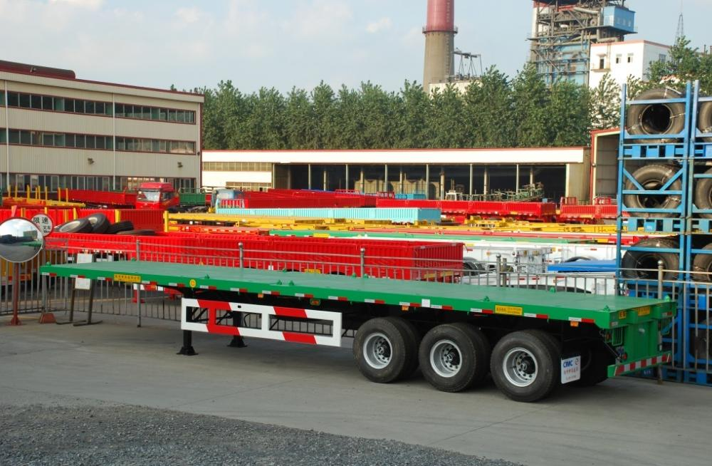 4th Lr Tri Axle Flatbed