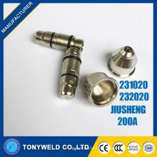 Chino 200A enfriamiento de agua jiusheng 231020 electrodo de plasma de aire