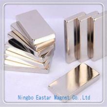 N50 Nickel Plating NdFeB Permanent Block Magnet