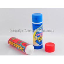 empty food safe plastic tube