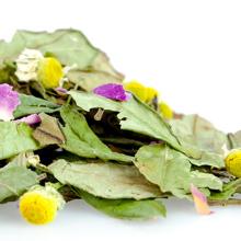 Té de hierbas aromático Rose de relajación superior que combina sabores de té de peonía blanca de manzanilla rosa