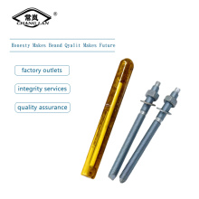Yellow zinc plated chemical anchor bolt M16