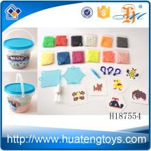 H187554 Последние дети бутылках образовательных DIY пластиковые воды воды бисера игрушка для продажи