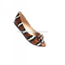 Sapatas graciosas das mulheres da cunha da venda 2014 sapatas graciosas da sapata da bailarina da sapata das sapatas