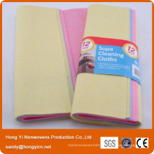 High Absorbention Needle Punched Nonwoven Fabric Cleaning Cloth