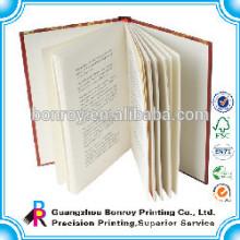 Customized matt cover adult hardcover book printing